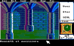 Test Le Manoir de Mortevielle Amstrad CPC - Screenshot 10