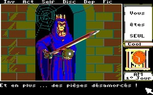 Test Le Manoir de Mortevielle Amstrad CPC - Screenshot 11