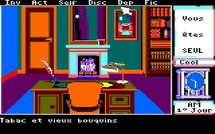 Test Le Manoir de Mortevielle Amstrad CPC - Screenshot 13