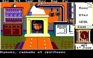 Test Le Manoir de Mortevielle Amstrad CPC - Screenshot 15