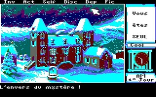 Test Le Manoir de Mortevielle Amstrad CPC - Screenshot 16