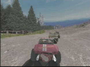 Test Buggy Heat Dreamcast - Screenshot 1