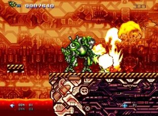 Test GunLord Dreamcast - Screenshot 17