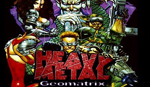 Heavy Metal Geomatrix