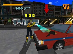 Test Jet Set Radio Dreamcast - Screenshot 5
