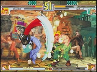 Test Street Fighter 3 Third Strike Dreamcast - Screenshot 2