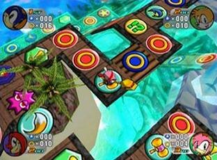 Test Sonic Shuffle Dreamcast - Screenshot 1