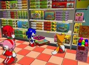 Test Sonic Shuffle Dreamcast - Screenshot 2