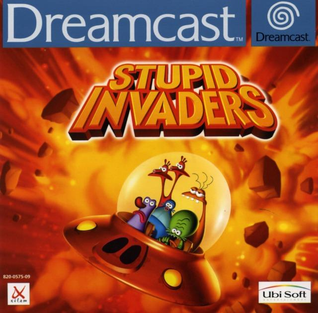 stupid invaders sur dreamcast. Black Bedroom Furniture Sets. Home Design Ideas