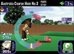 Test Tee Off Dreamcast - Screenshot 1