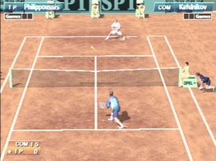 Test Virtua Tennis Dreamcast - Screenshot 1