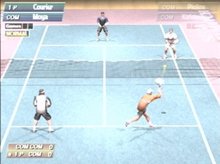 Test Virtua Tennis Dreamcast - Screenshot 2