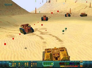 Test Wild Metal Dreamcast - Screenshot 2