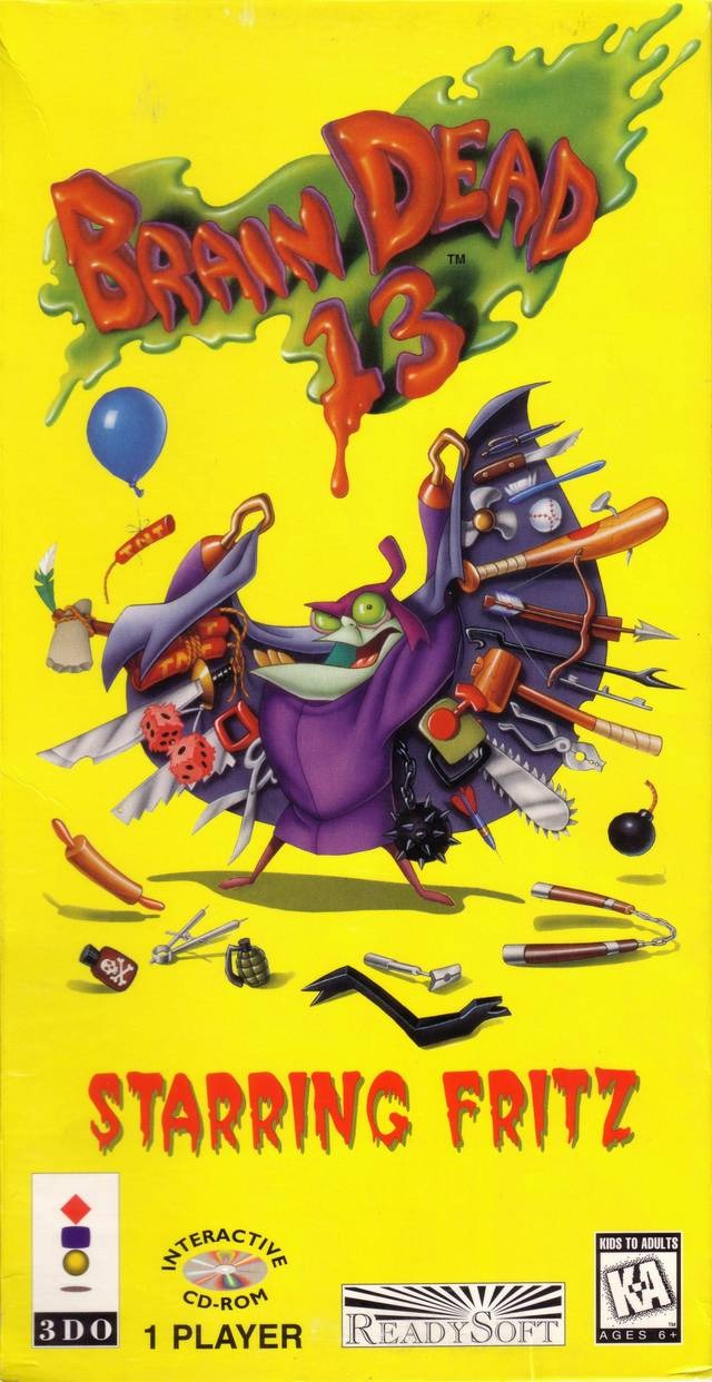 Brain Dead 13 Video Game  TV Tropes