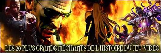 Les 20 plus grands méchants de l'histoire du jeu vidéo