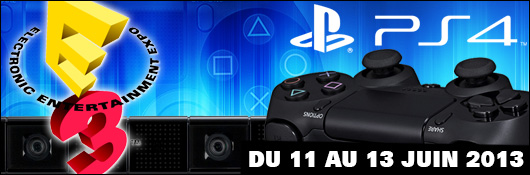 E3 2013 - L'actualité PS4