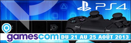 GC 2013 - L'actualité PS4