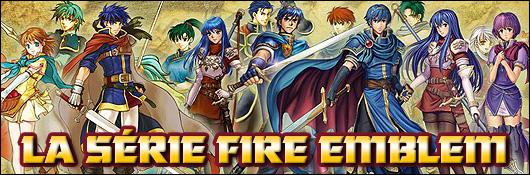 La série Fire Emblem