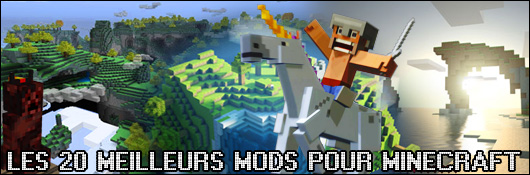 les 20 meilleurs mods pour minecraft dossier. Black Bedroom Furniture Sets. Home Design Ideas