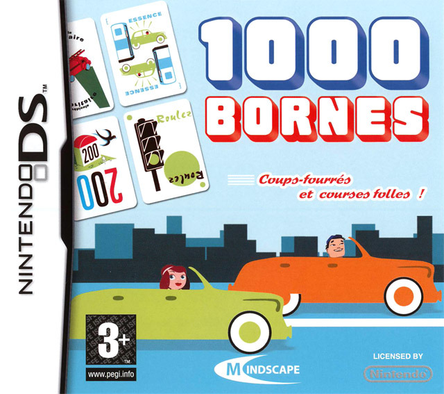 1000 bornes sur nintendo ds. Black Bedroom Furniture Sets. Home Design Ideas
