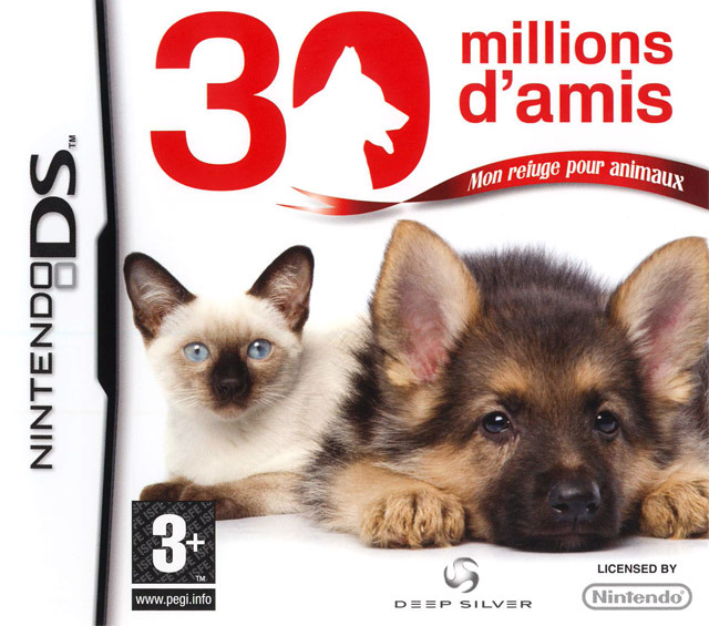 30 millions d 39 amis mon refuge pour animaux sur nintendo ds. Black Bedroom Furniture Sets. Home Design Ideas