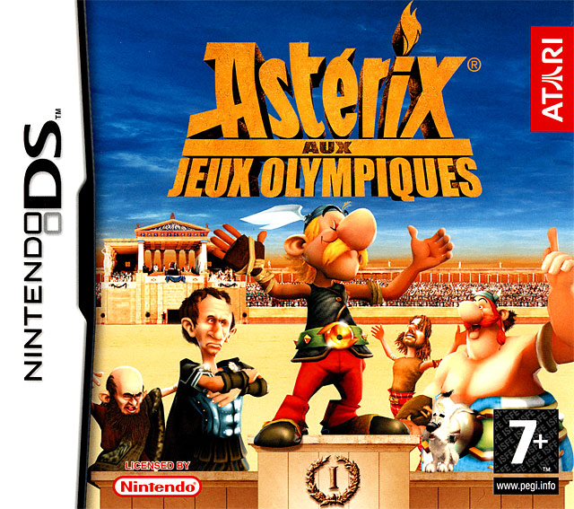 ast rix aux jeux olympiques sur nintendo ds. Black Bedroom Furniture Sets. Home Design Ideas