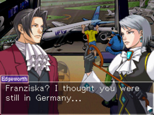 GC 2009 : Images de Ace Attorney Investigations : Miles Edgeworth