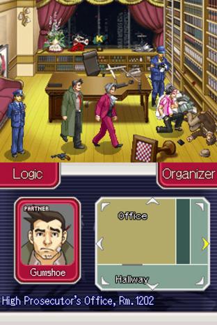 GC 2009 : Images de Ace Attorney Investigations : Miles Edgeworth