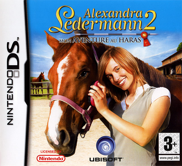 alexandra ledermann 2 mon aventure au haras sur nintendo ds. Black Bedroom Furniture Sets. Home Design Ideas