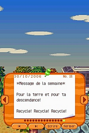 Animal Crossing Wild World Ancrds603