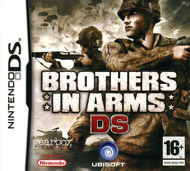 brothers in arms ds sur nintendo ds. Black Bedroom Furniture Sets. Home Design Ideas