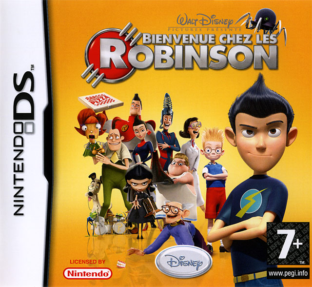 meet the robinsons ds guide game yum