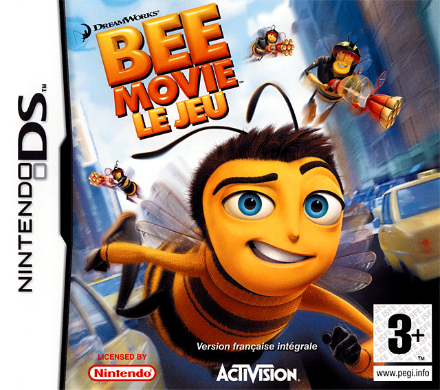 bee movie le jeu sur nintendo ds. Black Bedroom Furniture Sets. Home Design Ideas