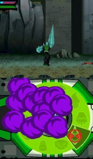 Test Ben 10 Omniverse Nintendo DS - Screenshot 1