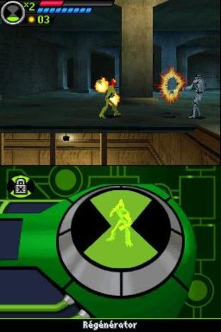 complète Ben 10 Ultimate Alien : Cosmic Destruction - Nintendo DS