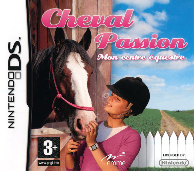 cheval passion mon centre equestre sur nintendo ds. Black Bedroom Furniture Sets. Home Design Ideas