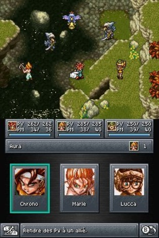 Test Chrono Trigger Nintendo DS - Screenshot 44