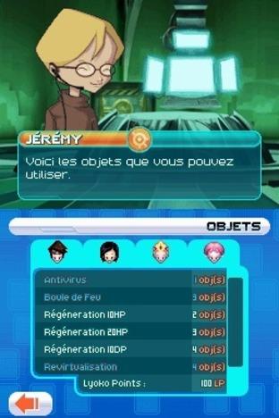 Test Code Lyoko : X.A.N.A Destruction Finale Nintendo DS - Screenshot