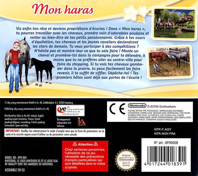 jeuxvideo.com Cheval & Poney : Mon Haras - Nintendo DS Image 2 sur 76