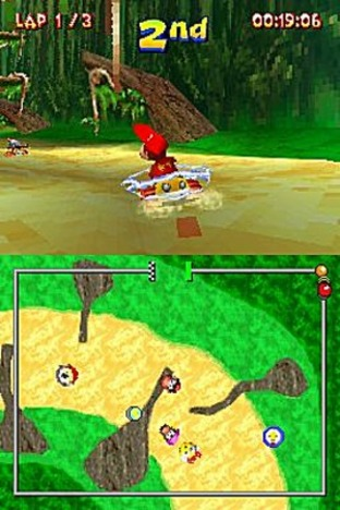 Test Diddy Kong Racing DS Nintendo DS - Screenshot 32