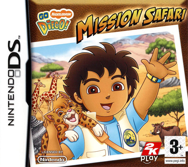 Go Diego ! Mission Safari DS