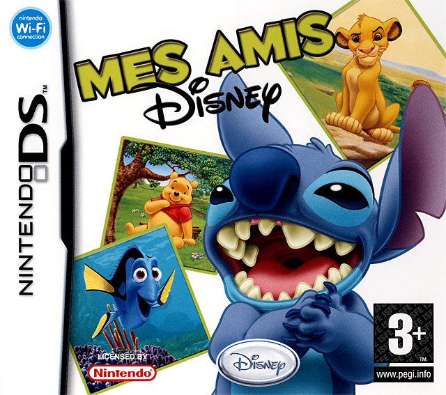 [MULTI] Mes Amis Disney [DS]