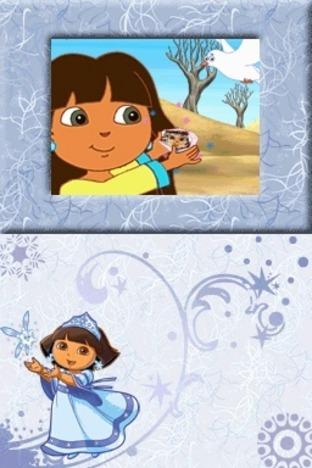 Test du jeu dora sauve la princesse des neiges sur ds - Dora princesse des neiges ...