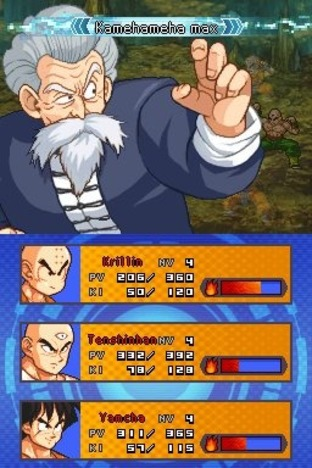Test Dragon Ball Z : Attack of the Saiyans Nintendo DS - Screenshot 392