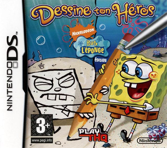 Bob L'Eponge : Dessine ton Heros DS