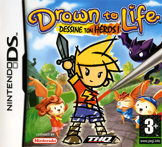 Drawn to Life : Dessine ton Héros ! DS