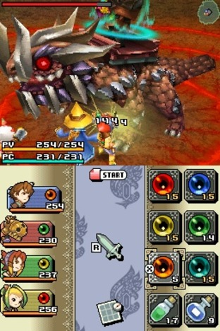 Final Fantasy Crystal Chronicles : Ring of Fates Nintendo DS