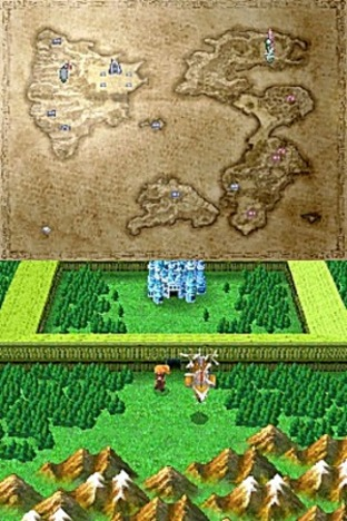 Test Final Fantasy III Nintendo DS - Screenshot 97