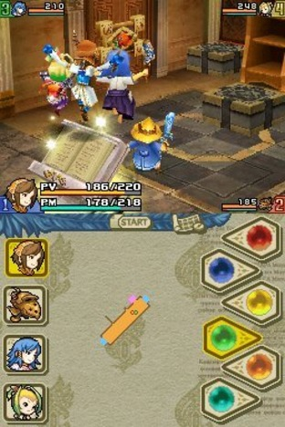 Test Final Fantasy Crystal Chronicles : Echoes of Time Nintendo DS - Screenshot 142