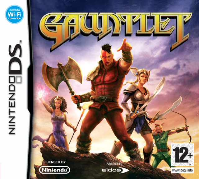gauntlet sur nintendo ds. Black Bedroom Furniture Sets. Home Design Ideas
